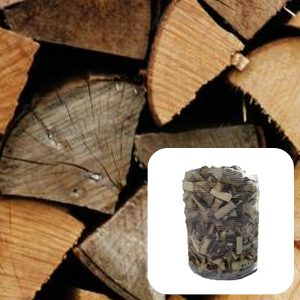 Mixed Firewood Logs – 0.75m³ Pallet
