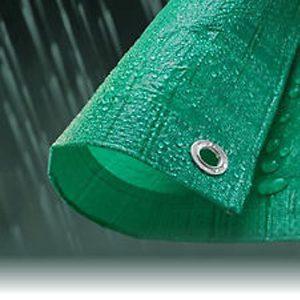 green-tarpaulin