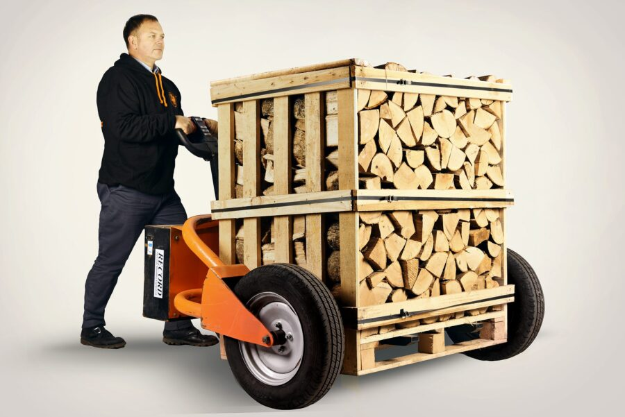 Deluxe Ash Firewood Logs - 4 x XL Crate