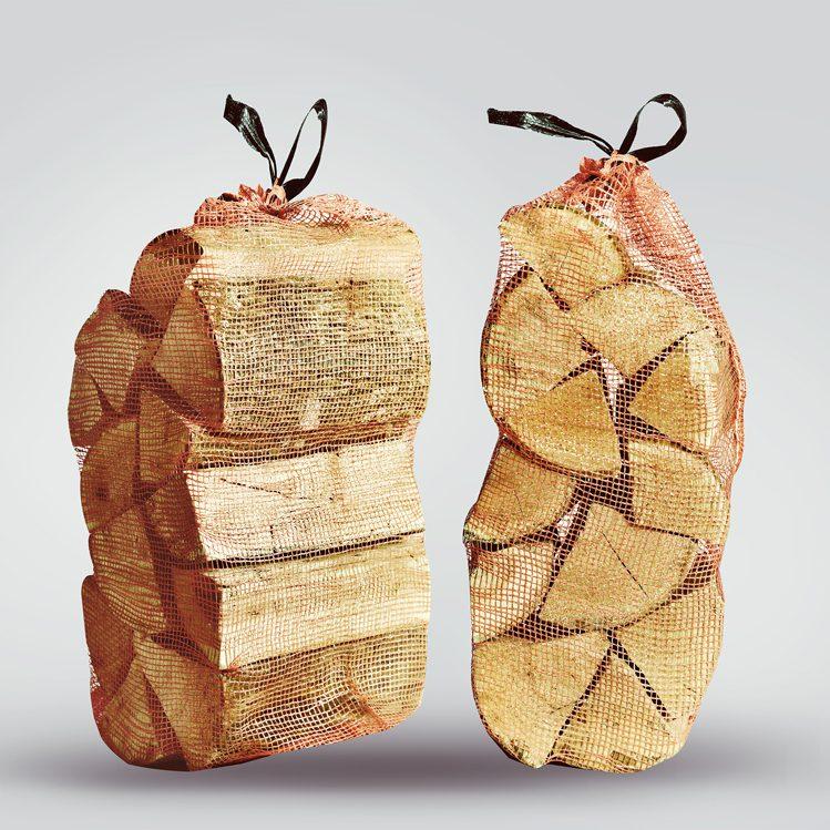 10 x Kiln Dried Firewood Logs Nets