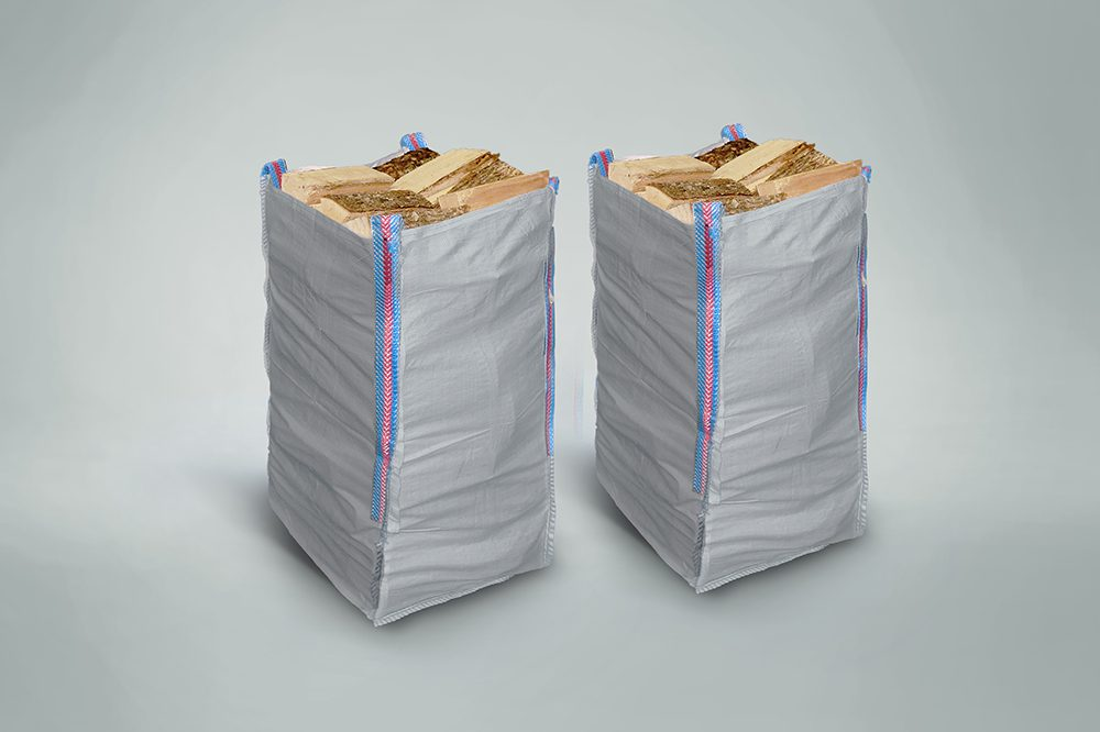 2 x Handy Hardwood Sacks