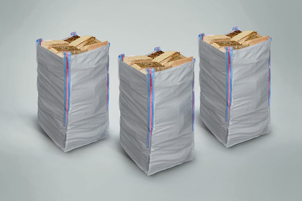 3 x Handy Hardwood Sacks