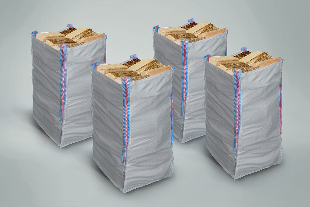 4 x Handy Hardwood Sacks